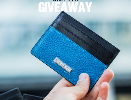 Enter for a Chance to Win a Nimesto Leather Card Holder