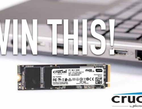 Win a Crucial P1 500GB NVMe M.2 SSD to give your PC a boost!