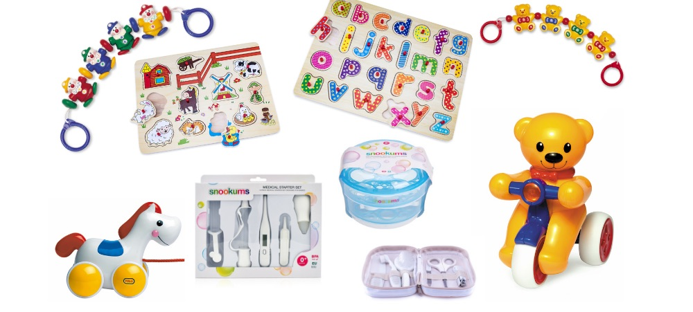 WIN WITH SNOOKUMS BABY, TOLO TOYS & PARENTING HUB
