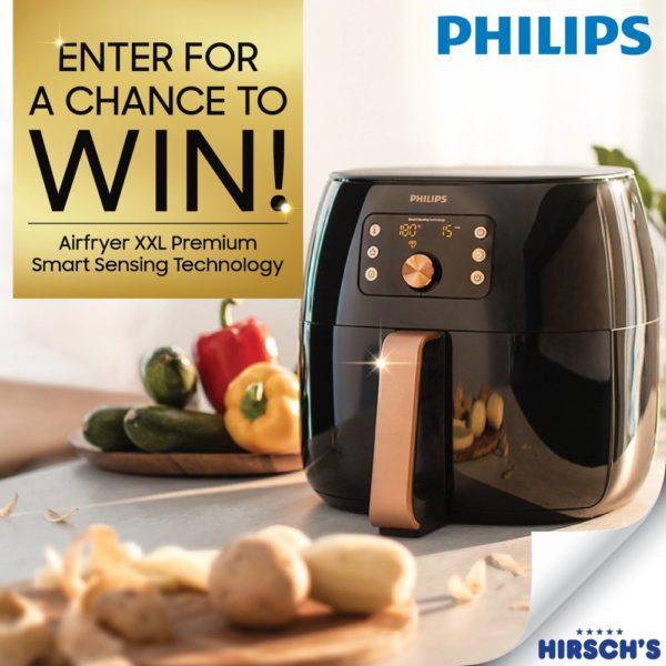 Hirsch's: WIN a Philips Airfryer!